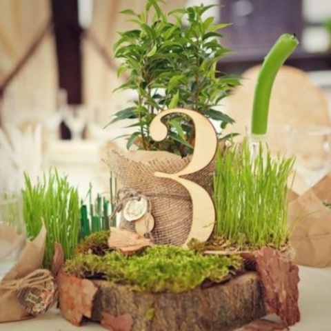 28 Woodland Wedding Table Numbers