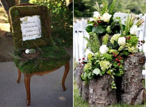 65 Outdoor Woodland Wedding Decor Ideas HappyWeddcom