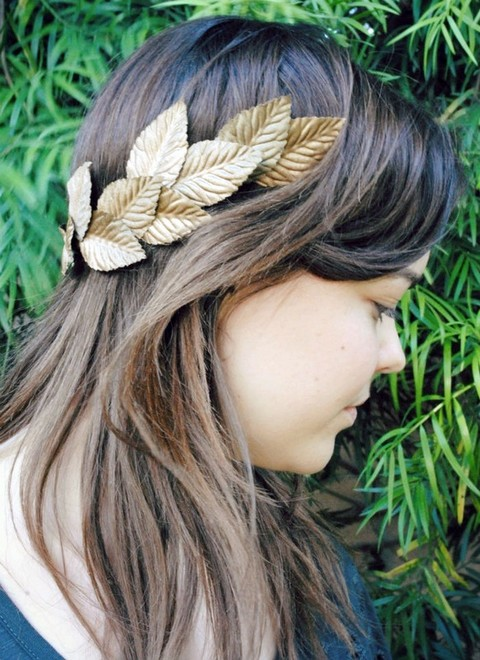 10 DIY Fall Leaf Bridal Crowns