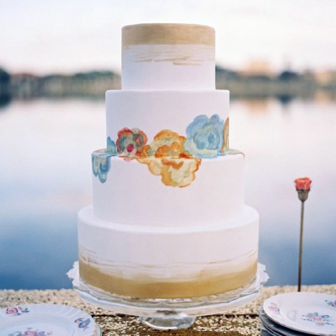 32 Amazing Boho Chic Wedding Cakes
