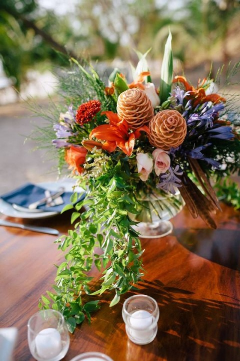 44 Adorable Boho Chic Wedding Centerpieces Happywedd