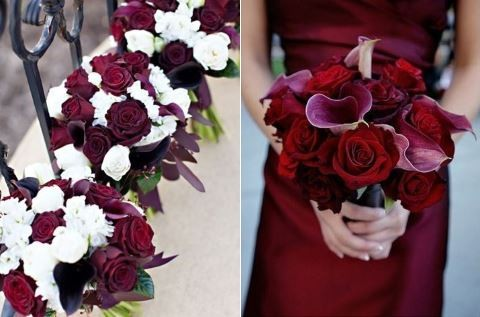 69 Dramatic Burgundy Wedding Ideas | HappyWedd.com