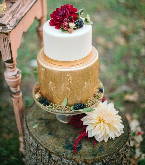 59 Delicious Fall Wedding Cakes