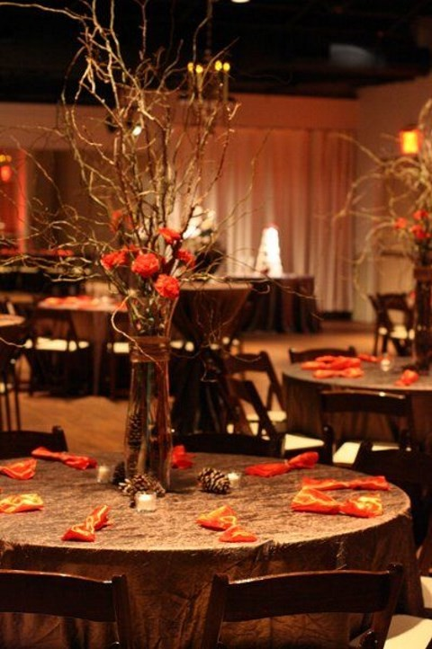 45 fall wedding centerpieces that inspire for Autumn wedding decoration