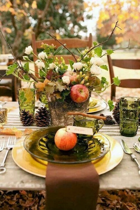 62 romantic fall wedding tablescapes. Black Bedroom Furniture Sets. Home Design Ideas