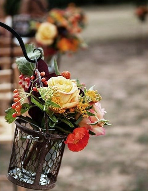 57 fall wedding aisle decor ideas happywedd junglespirit Choice Image