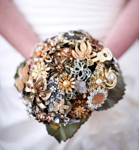 46 Fun Steampunk Wedding Bouquets