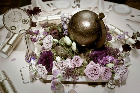 20 Creative Steampunk Wedding Centerpieces