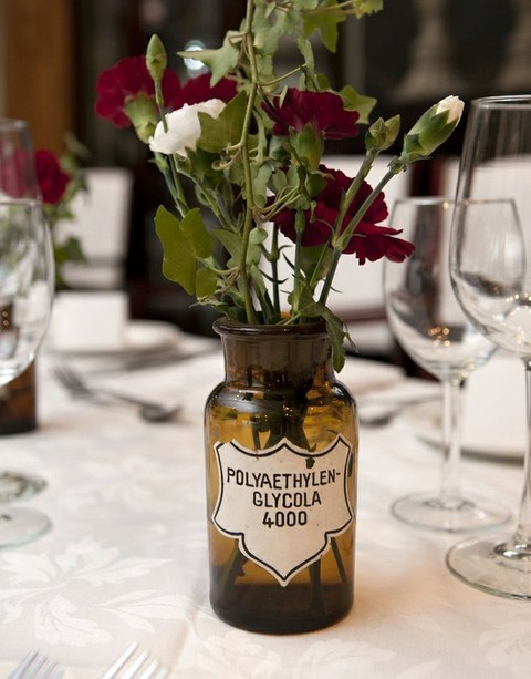 20 Creative Steampunk Wedding Centerpieces HappyWeddcom