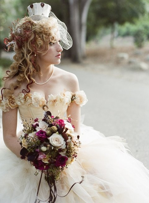 Wedding Steampunk Dresses