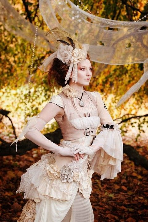 35 Unique Steampunk Wedding Gowns