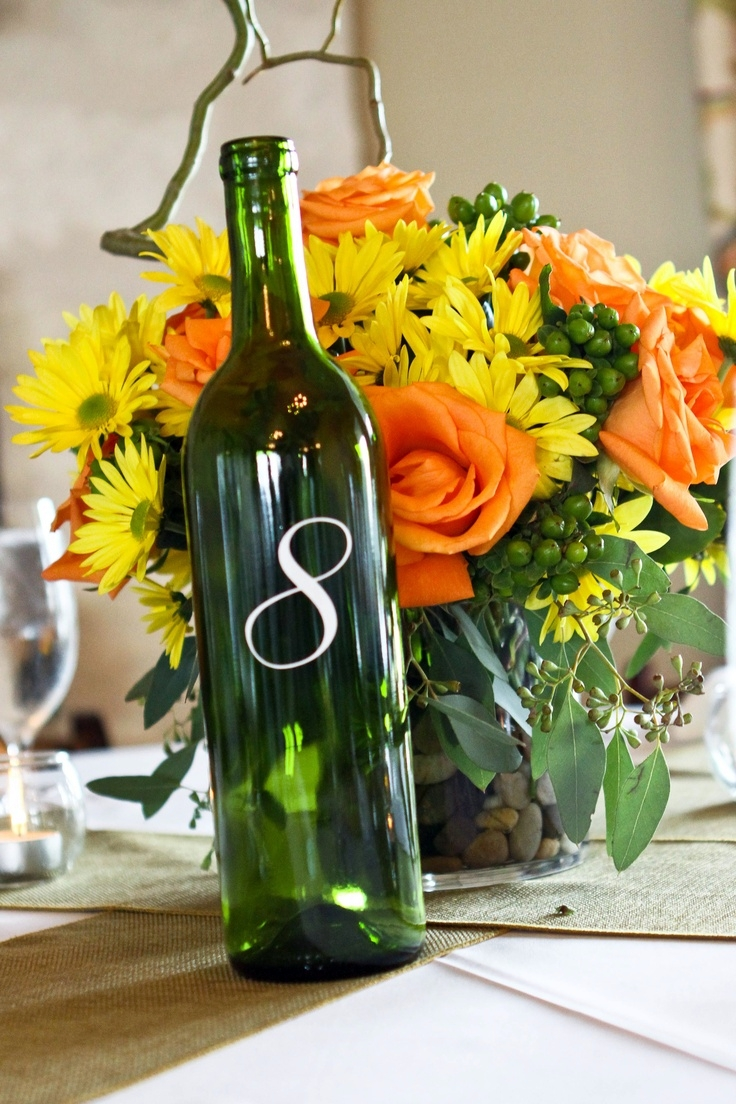 28 Vineyard Wedding Table Numbers