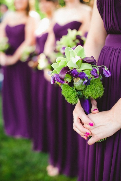 50 Dark Purple Wedding Ideas To Rock