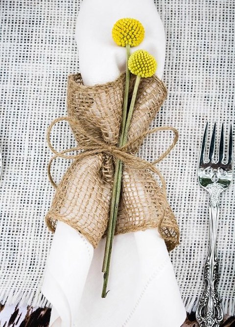 How To Style Your Wedding Napkins: 80 Ideas