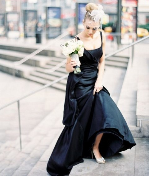 41 Gorgeous Black Wedding Dresses To Rock