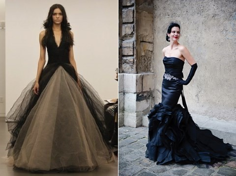 41 Gorgeous Black Wedding Dresses To Rock | HappyWedd.com