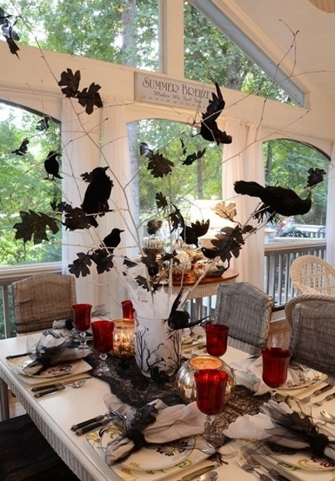 45 stunning halloween wedding centerpieces - Halloween Centerpieces Wedding