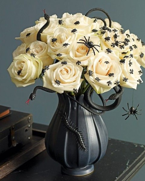 45 Stunning Halloween Wedding Centerpieces Happywedd Com