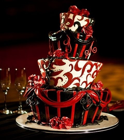 70 unique halloween wedding cakes - Halloween Wedding Cakes Pictures
