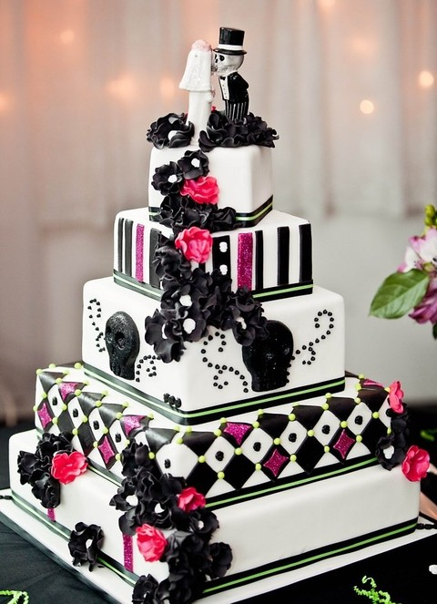 by chloe - Halloween Wedding Cakes Pictures