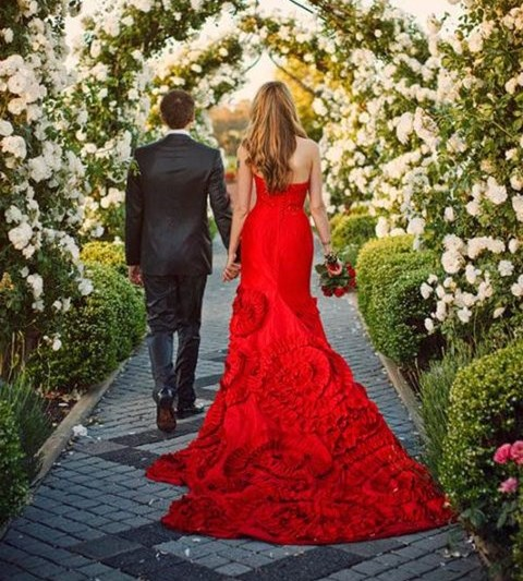 60 Striking Red And Grey Wedding Ideas