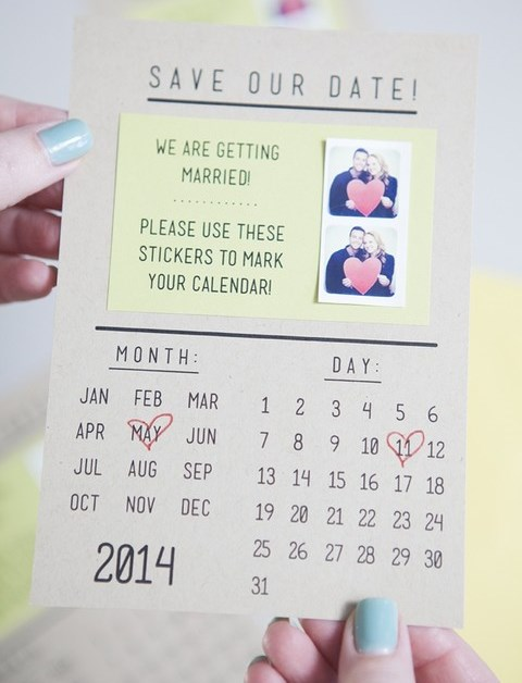 12 DIY Wedding Save The Dates To Make