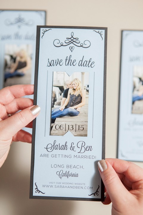 Make save the date cards online