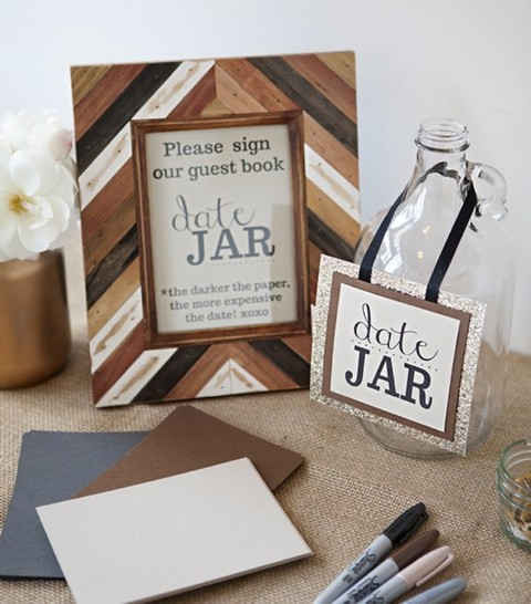 Diy Cover Guest Book : Creative diy wedding guest books happywedd