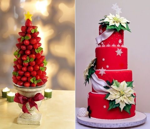 80 beautiful christmas wedding ideas happywedd junglespirit Image collections