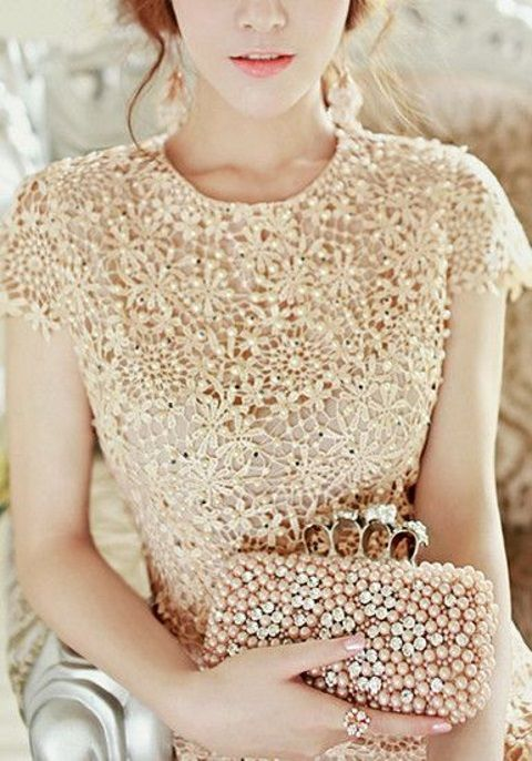 47 Chic Pearl Wedding Ideas