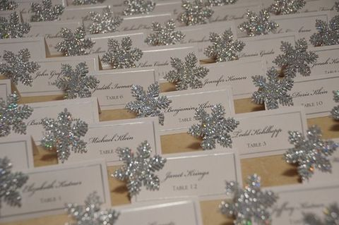 44 Snowflake Ideas For Winter Wedding Decor Happywedd