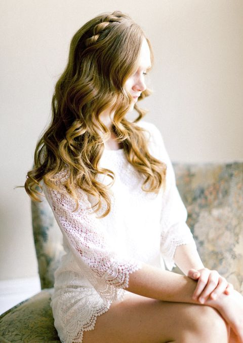 10 Beautiful DIY Loose Bridal Hair Ideas