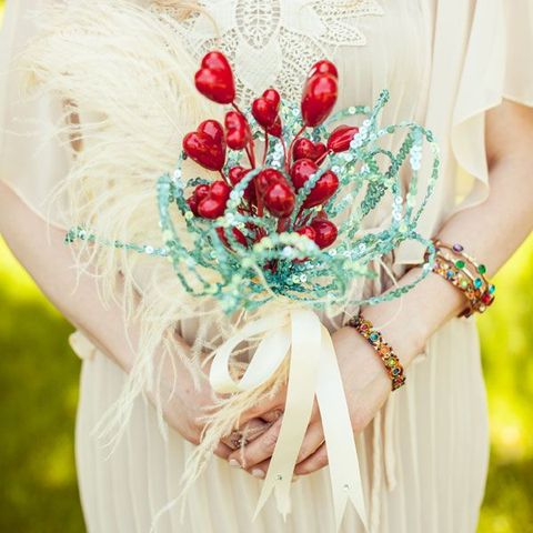 40 Cute Valentine's Day Wedding Bouquets