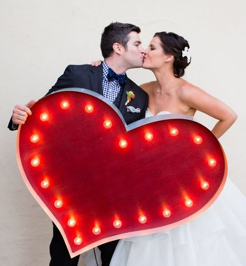 56 Romantic Heart-Themed Wedding Ideas