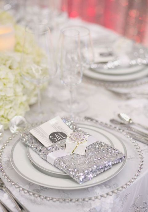 40 Silver Winter Wedding Ideas