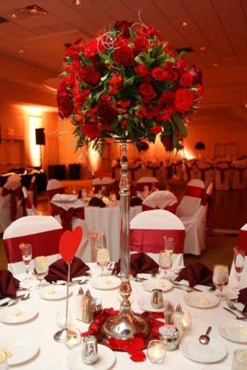Valentine s day wedding table settings happywedd