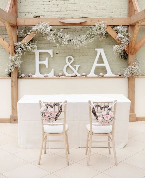 78 Ways To Use Initials In Your Wedding Decor