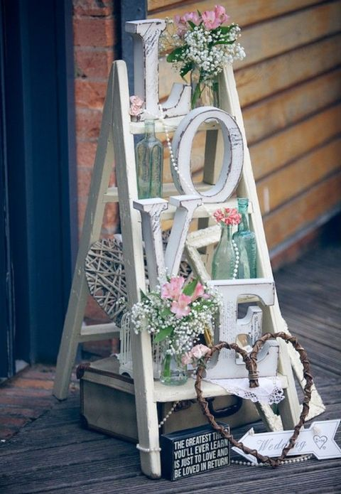 41 love letters wedding decor ideas