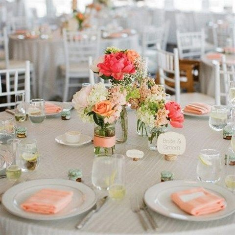 40 Delicate Peach And Ivory Wedding Ideas Happywedd Com