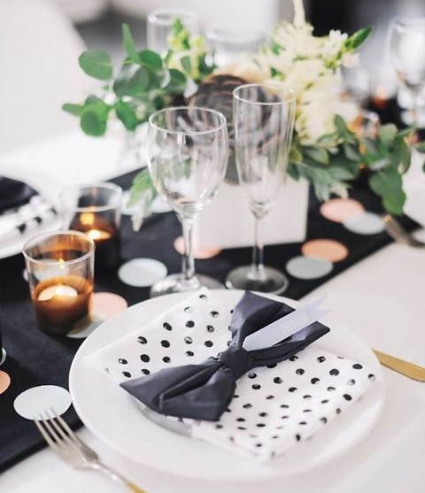 65 Cute Polka Dot Wedding Ideas