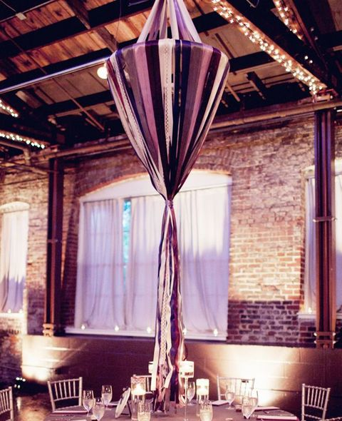Ribbon Decor For Your Wedding: 61 Ideas