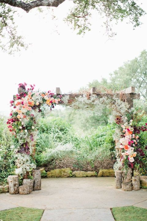 36 cute spring wedding arches happywedd by chloe junglespirit Image collections