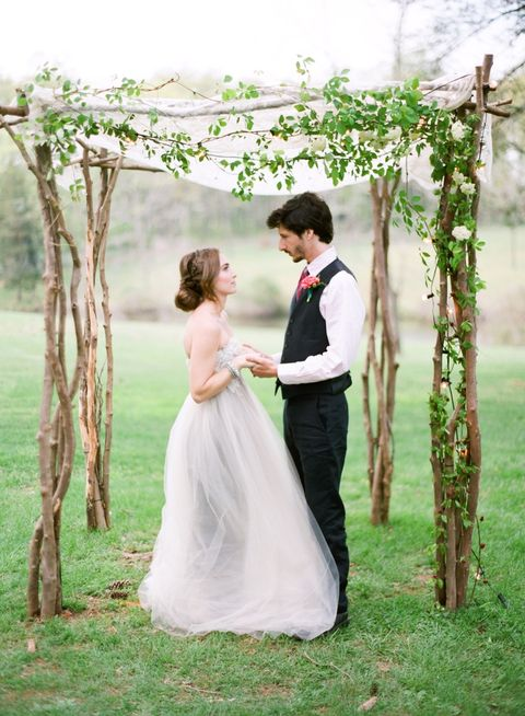 36 Cute Spring Wedding Arches