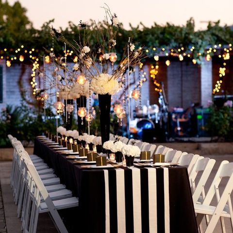 Sassy Stripes: 80 Cool Wedding Ideas