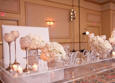 Marvelous 120 Adorable Sweetheart Table Decor Ideas Happywedd Com Rh Happywedd Com  Bride And Groom Table Decor