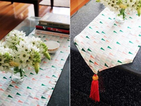 24 DIY Wedding Table Runners You Can Easily Make | HappyWedd.com