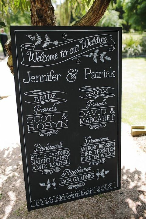 one thought on 60 cool chalkboard wedding ideas