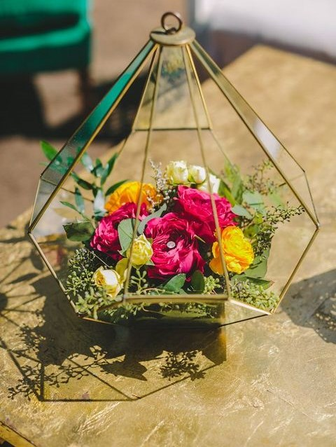 56 Geometric Wedding Ideas That Inspire