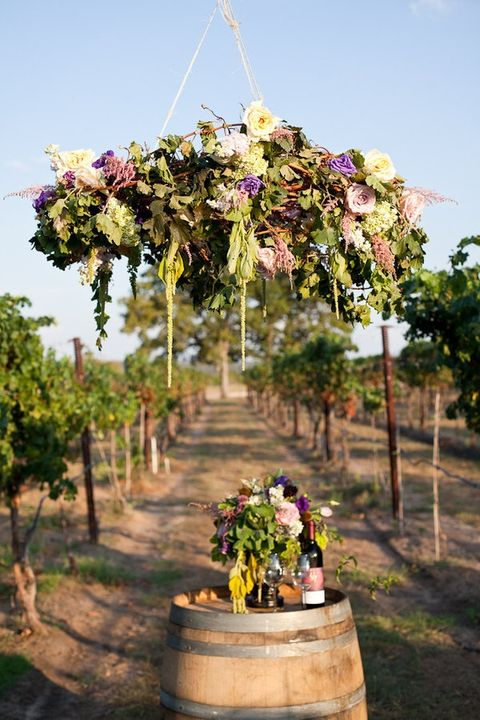 105 greenery and floral chandeliers for your wedding happywedd by chloe aloadofball Choice Image