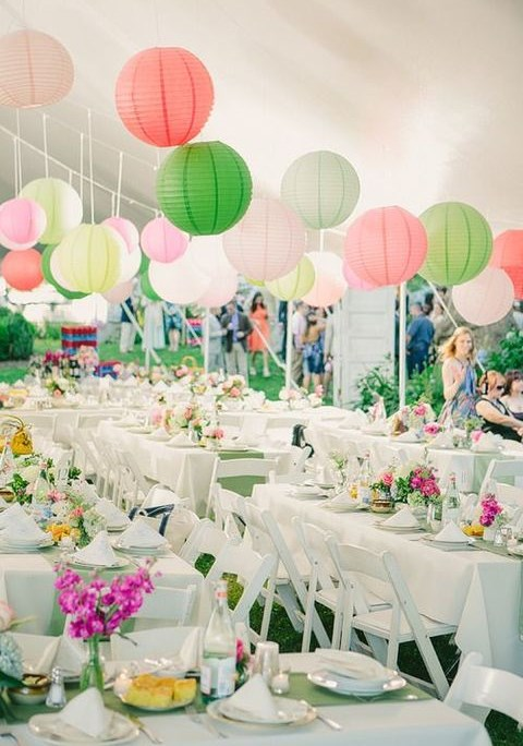 50 Paper Lantern Ideas For Your Wedding